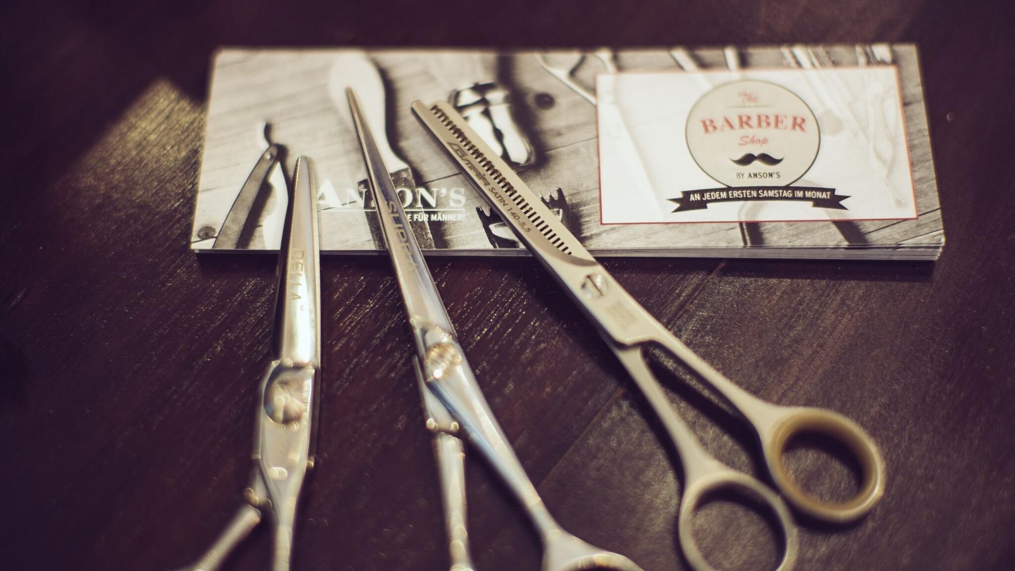 the barber shop by anson s mr d sseldorf. Black Bedroom Furniture Sets. Home Design Ideas