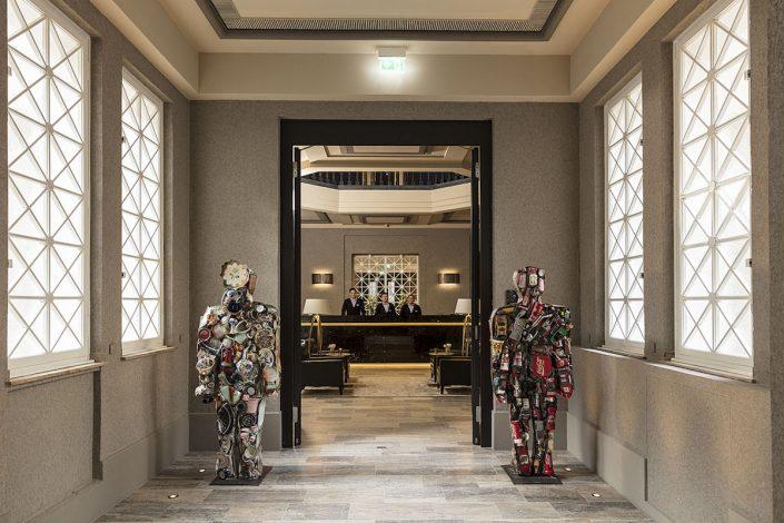 Andreas Quartier Eingang Hyatt House - Trashman