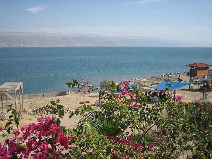 Totes Meer Israel am Strand