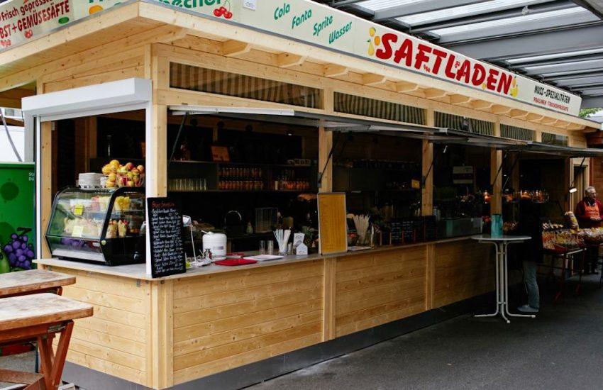 Saftladen | kaltgepresste Säfte | Mr. Düsseldorf | Bild: Carlsplatz Website