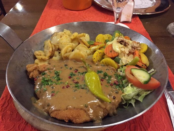 Schnitzel in Düsseldorf