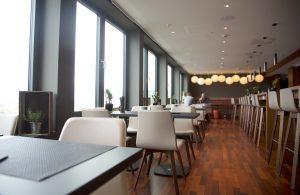 me and all hotel Düsseldorf | Lieblingsladen | Lounge im Penthouse | Mr. Düsseldorf