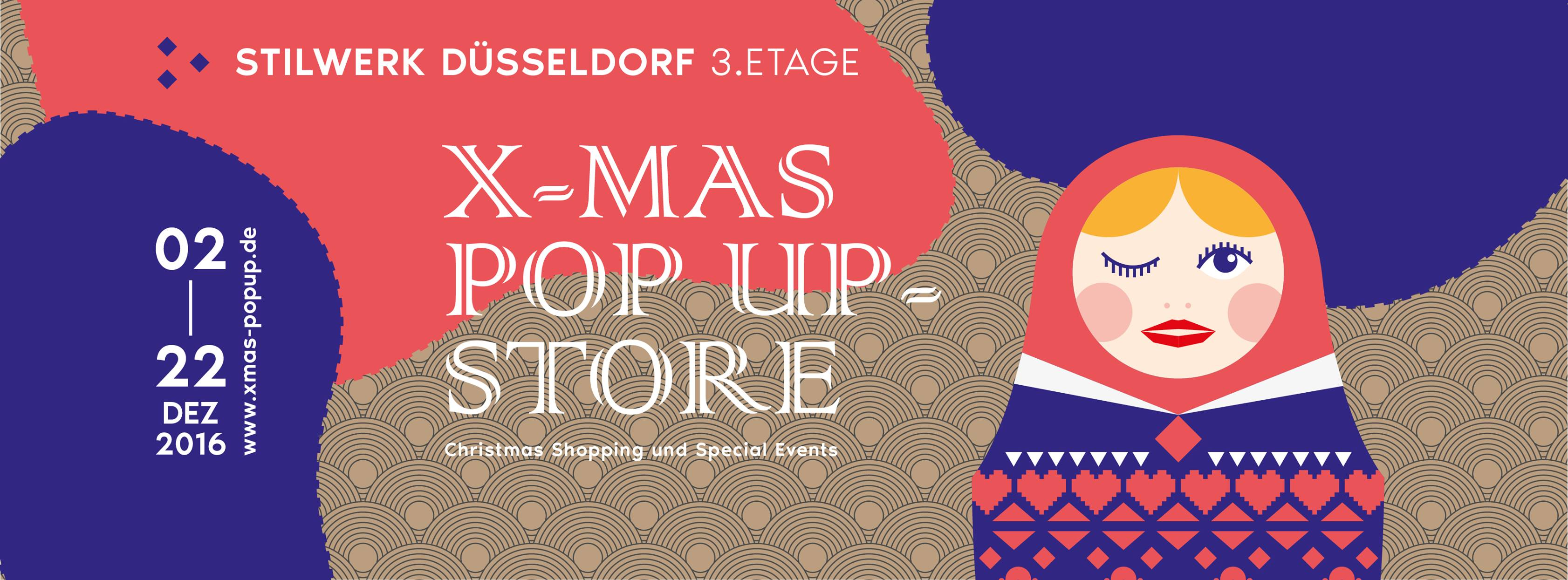 X-MAS Pop Up-Store