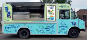 Charity Food Truck Lunch