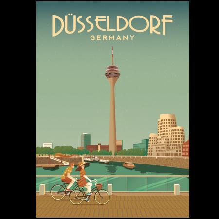 Düsseldorf Poster