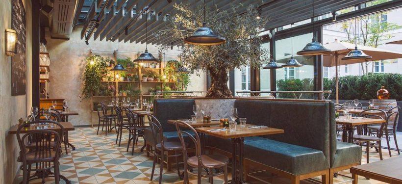 Café du Sommelier Interior