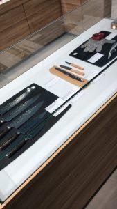 Japanisches Messerset & Austern-Set
