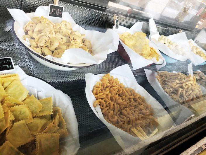 Frische Pasta im Kitchen Market