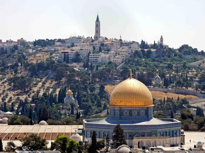 Jerusalem Altstadt Blick