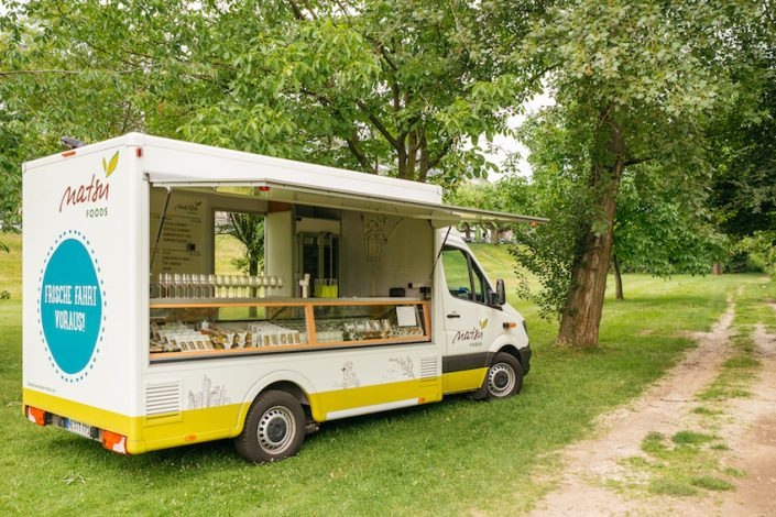 Blogger Picknick im PaBlogger Picknick im Park mit Natsu Foods Food-Truckrk mit Natsu Foods Foodtruck