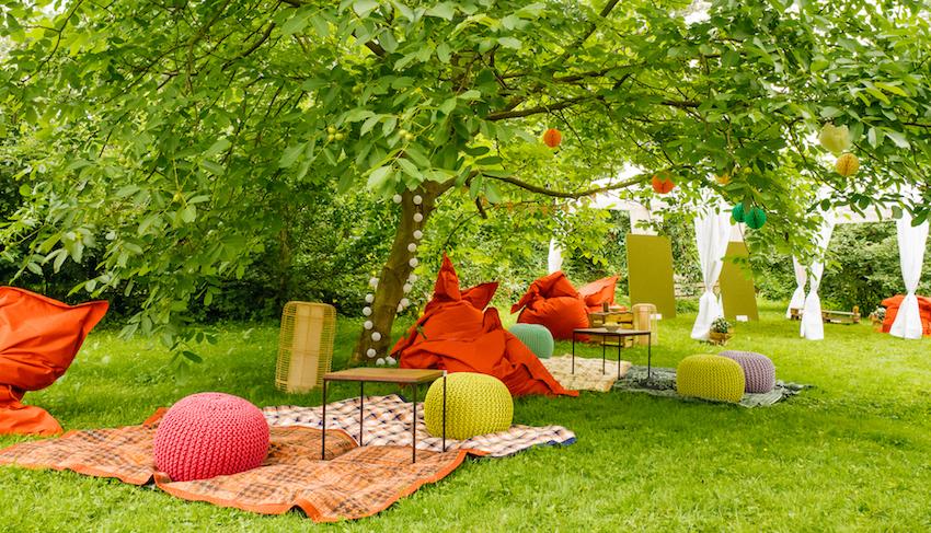Blogger Picknick im Park mit Natsu Foods