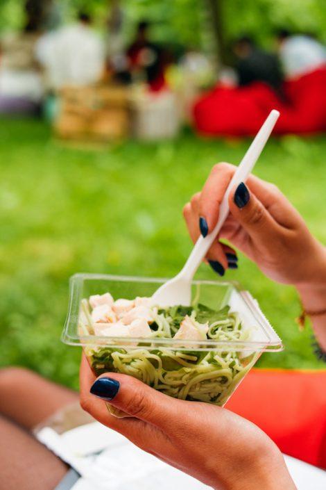 Salate von Natsu