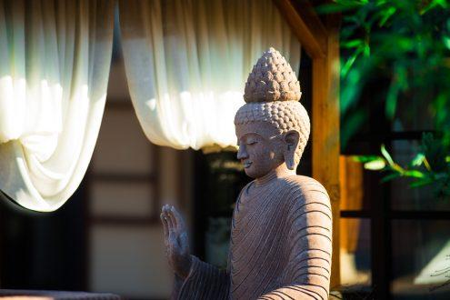 Balinesische Dekoration