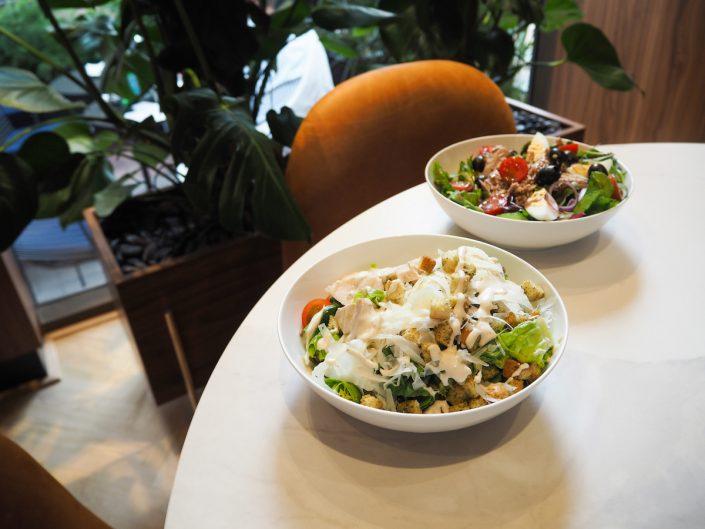 Tommy Hilfiger People´s Place Düsseldorf Caesars Salad & Griechischer Salat