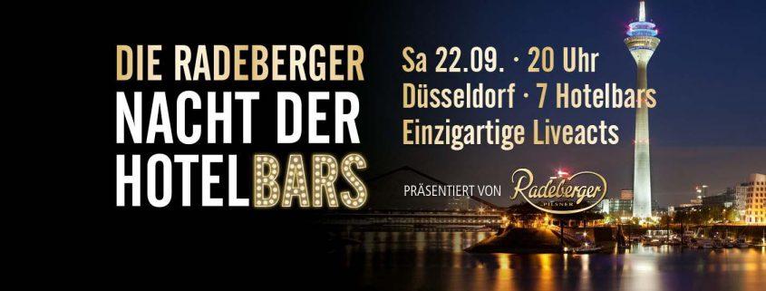 Radeberger Nacht der Hotelbars