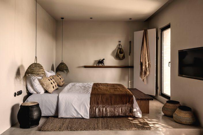 Schlafzimmer Casa Cook Kos