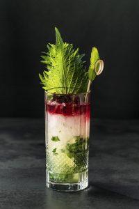 Cocktail 'Shiso Moji' by Claus Liebscher | Qomo
