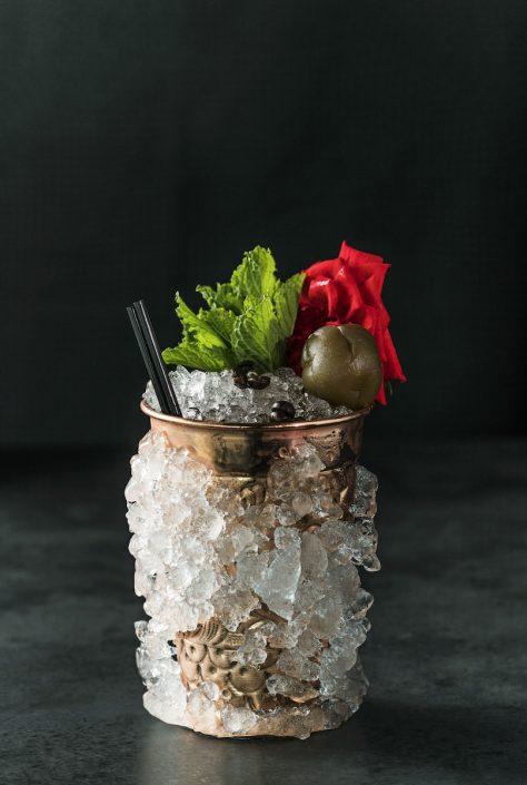 Cocktail 'Umeshulep' by Claus Liebscher | Qomo
