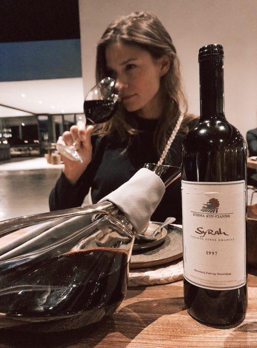 Wein Syrah Restaurant Casa Cook