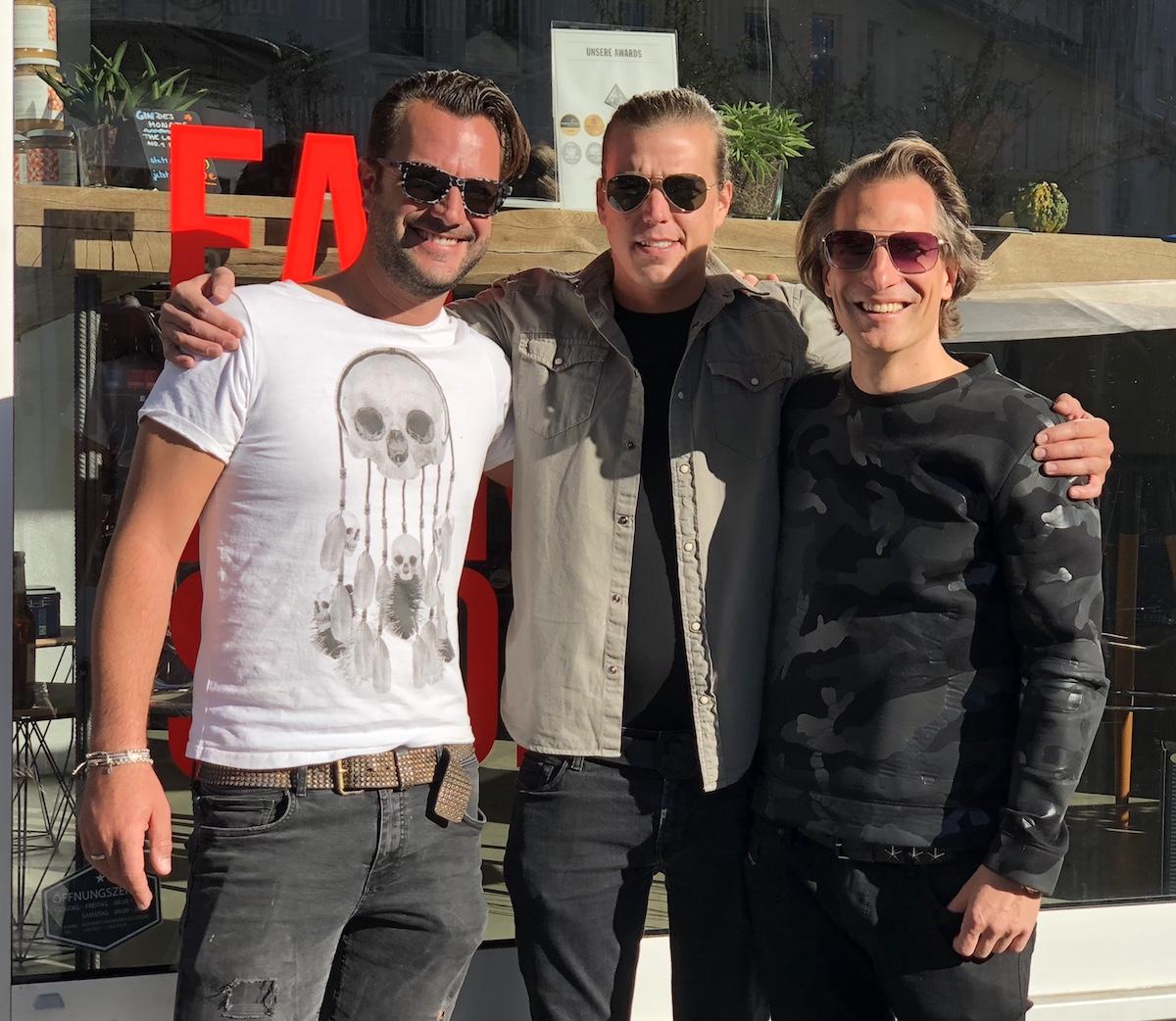 Dennis Liebing, Richard Billhöfer, Arndt Pecher | Gründer von WUNDERVOLL