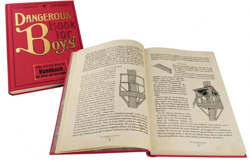 Die besten Geschenkideen zu Weihnachten | Für den Freund | Dangerous Book for Boys | deutsche Ausgabe | Alle Geheimnisse für Vater und Sohn | Mr. Düsseldorf