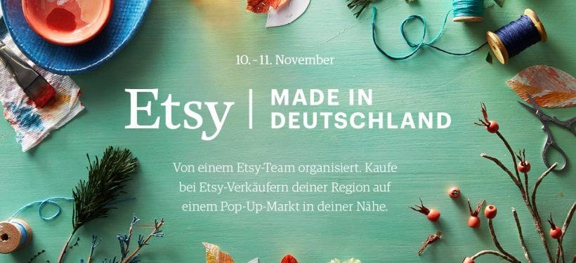 Etsy Pop-Up Shop in Düsseldorf | Eventkallender | Mr. Düsseldorf