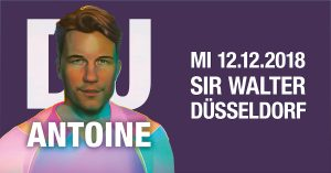 X-Mas Party mit DJ Antoine im Sir Walter | Eventkalender | Mr. Düsseldorf