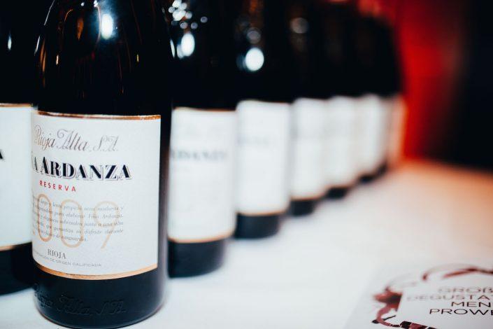 Viña Ardanza Reserva 2009 La Rioja Alta | Großes Degustationsmenü zur ProWein 2019 | Mr. Düsseldorf