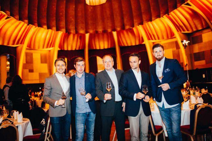 Veranstalter und Winzer | Großes Degustationsmenü zur ProWein 2019 | Mr. Düsseldorf