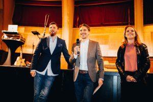 Björn Bittner, Timo Beck, Carla Stockheim | Großes Degustationsmenü zur ProWein 2019 | Mr. Düsseldorf