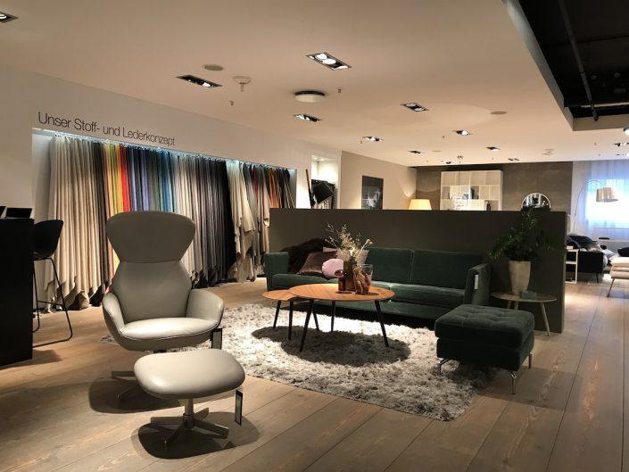 BoConcept Düsseldorf | Showroom im Stilwerk: Sessel | Lieblingsladen | Mr. Düsseldorf