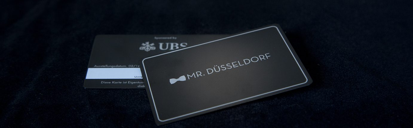 Die Mr. Düsseldorf Karte | 2. Edition | UBS Bank