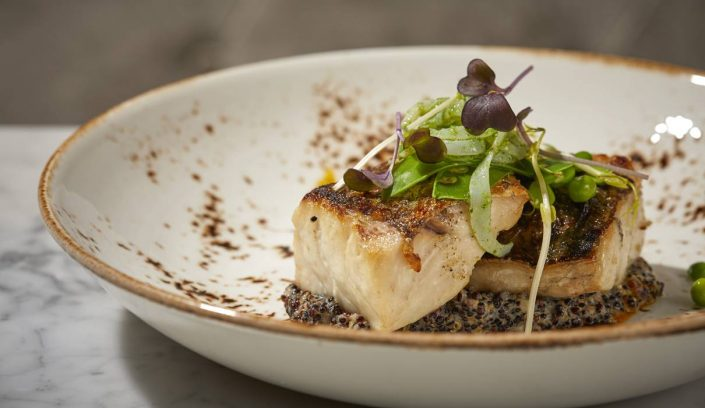 Fish Main Course im Equus Restaurant im Summum Prime Boutique Hotel | Reisebericht aus Palma | Mr. Düsseldorf