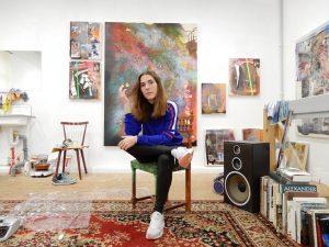 Kreative Köpfe aus Düsseldorf | Silke Albrecht, Malerin | Mr. Düsseldorf | Foto: Alexander Romey