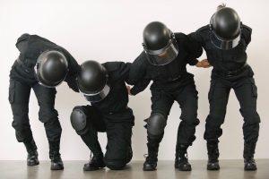 Art Düsseldorf 2019 geht zu Ende | Magazin | Mr. Düsseldorf | Isaac Chong Wai, Rehearsal of the Futures: Police Training Exercises, 2018 © Isaac Chong Wai