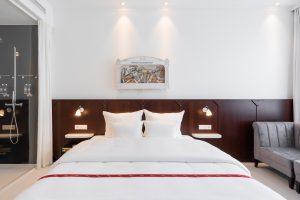Ruby Leni Hotel Düsseldorf | Bett | Lieblingsladen | Mr. Düsseldorf