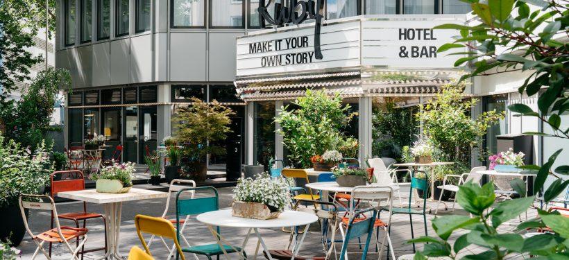 Ruby Leni Hotel Düsseldorf | Hoteleingang | Lieblingsladen | Mr. Düsseldorf