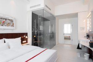 Ruby Leni Hotel Düsseldorf | Zimmer & Dusche | Lieblingsladen | Mr. Düsseldorf