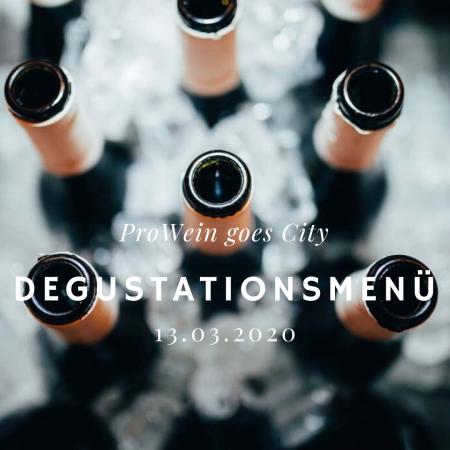 Prowein Degustationsmenü 2020 Shop Header