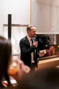 Niklas Drösser beim Reopening | Wempe | Lieblingsladen | Mr. Düsseldorf