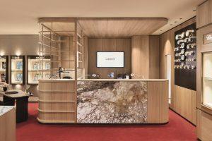 Servicecounter im Erdgeschoss | Wempe | Lieblingsladen | Mr. Düsseldorf