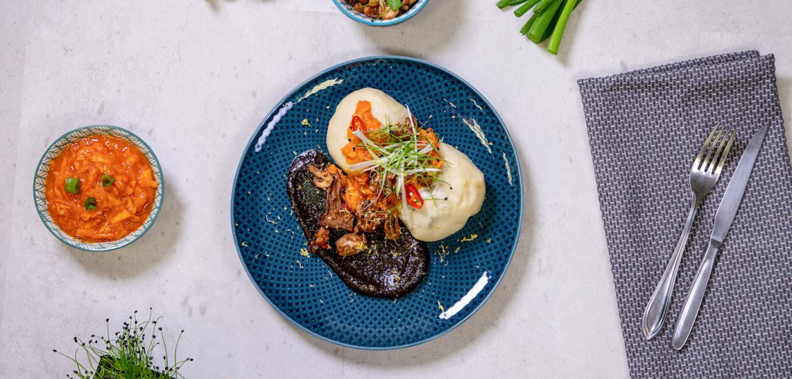 Kochen mit Bos Food | Neuigkeiten | Mr. Düsseldorf | Baos mit Kürbis-Mango-Chilisalat