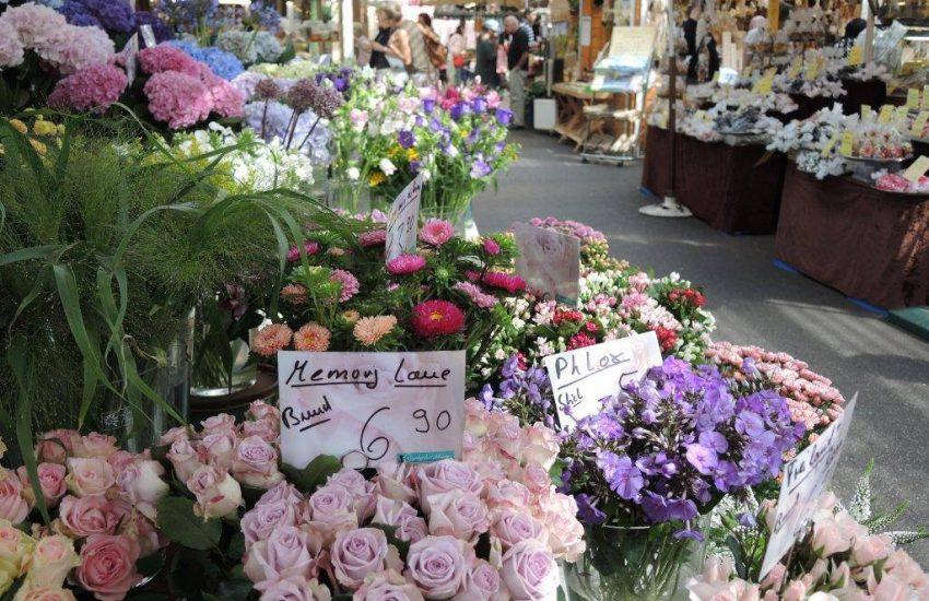 Carlsplatz | Top 10 Blumenläden in Düsseldorf | Topliste | Foto: Carlsplatz