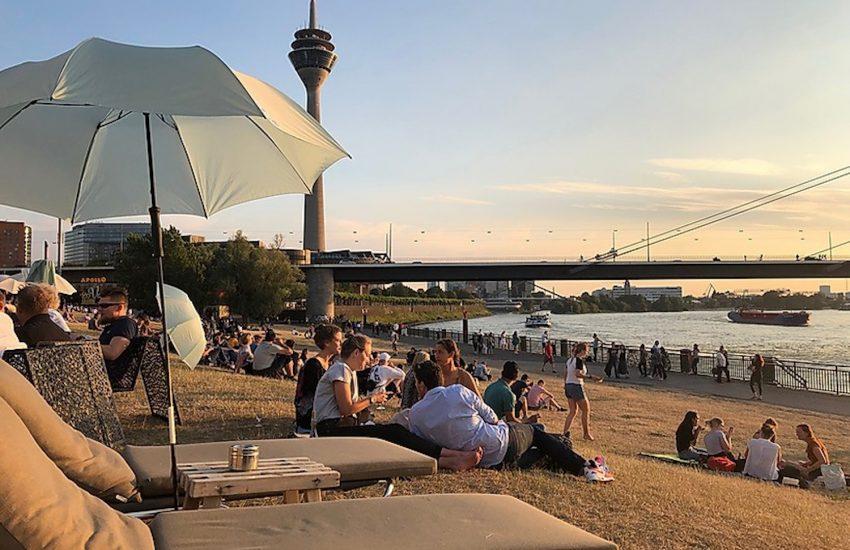 Stadtstrand Düsseldorf | Heimaturlaub – Top 10 Sonnenplätze in Düsseldorf | Topliste | Foto: Stadtstrand Düsseldorf