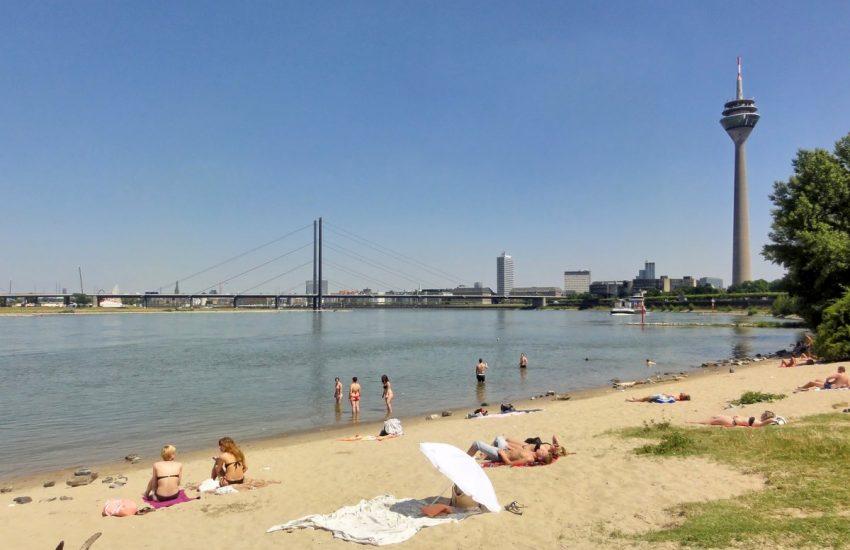 Paradiesstrand | Heimaturlaub – Top 10 Sonnenplätze in Düsseldorf | Topliste | Foto: Margot Klütsch