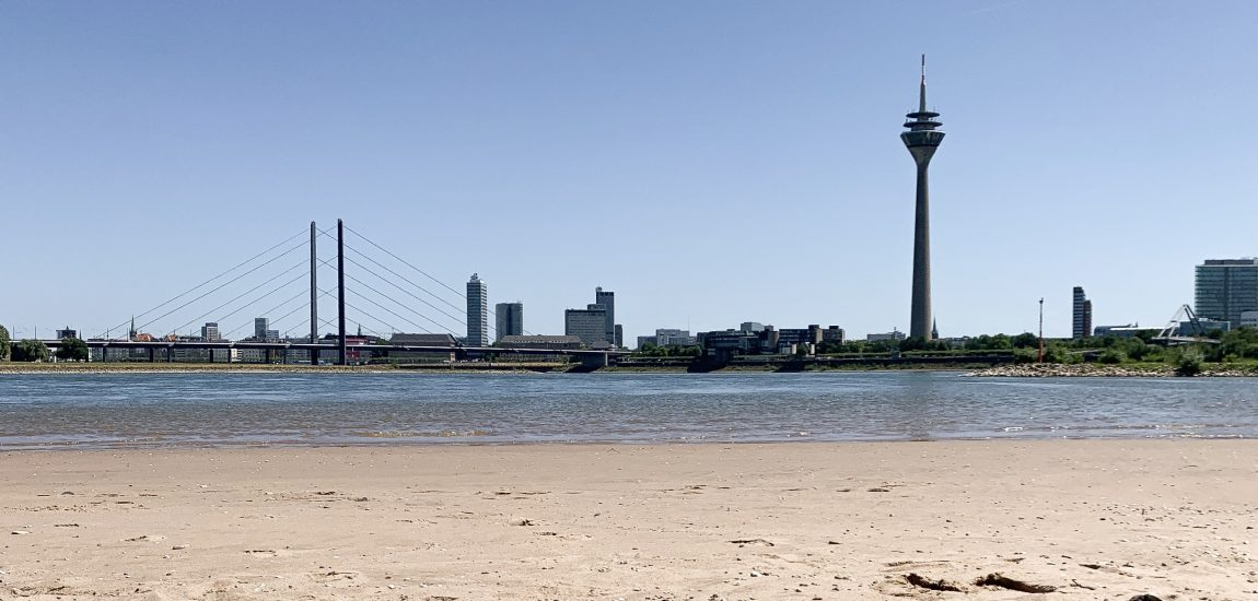 Paradiesstrand | Heimaturlaub – Top 10 Sonnenplätze in Düsseldorf | Topliste | Foto: Alexa Simankova