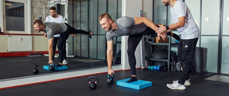 Daniel Philipp Personal Training & Physiotherapie | Balance | Interview | Magazin | Mr. Düsseldorf