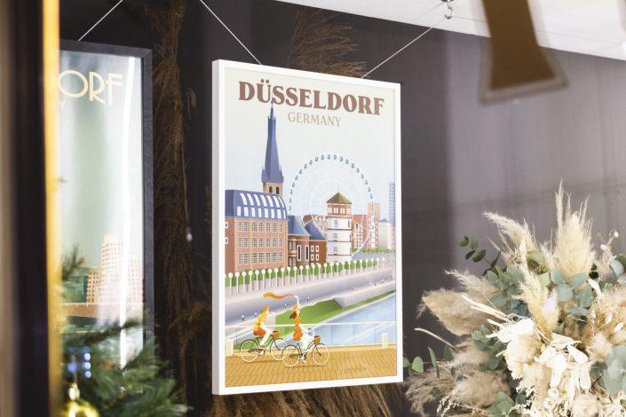 Komkuk Schaufenster Mr. Düsseldorf