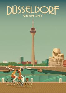 Düsseldorf Poster 2020 - Motiv 1