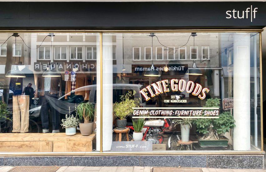 stuf f fine goods   Hotspots in Düsseldorf: Die Birkenstraße in Flingern   Mr. Düsseldorf